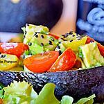 """recette Avocat """"Petit Plaisir"""" bien garni, végétarien"""