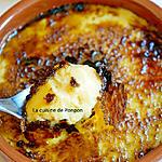 recette Crème brûlée au caramel au beurre salé Raffolé comme une crème catalane