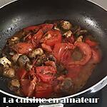 recette Tomates et champignons persillés