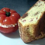 cake aux figues et jambon