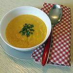recette Velouté carottes navets au curry au thermomix