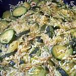 recette Courgettes au riz façon tajine