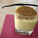 crème vanille et cannelle(crème baunilha e canela)