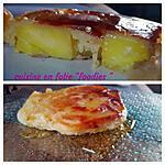 recette Pancakes à l'ananas et au caramel au rhum