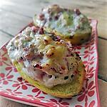 recette Pommes de terre farcies au jambon-boursin