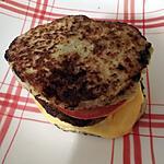 recette Double rostis burger