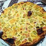 recette Tarte à la rhubarbe N°2
