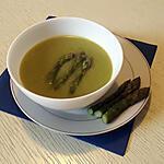 recette Velouté d'asperges vertes au thermomix