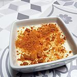recette Panna cotta au citron et aux spéculoos