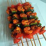 crevettes aux épices au barbecue