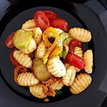 recette Salade de gnocchis aux petits légumes de printemps