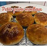 recette PETITS PAINS MOELLEUX