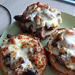 recette Pain hamburger fourré à la viande