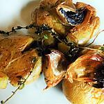 recette Les pommes de terre à l'ail noir ( recette du chef Frédéric Anton)