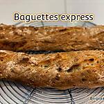 recette BAGUETTES EXPRESS