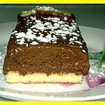 recette Tarte Biscuitée Mousse au Chocolat
