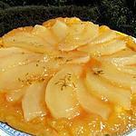 recette Tatin de melon jaune à l'anis vert