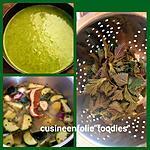 recette Soupe orties-courgettes le plein de vitamines! Excellent contre le rhume des foins!