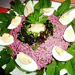 recette La multiplication de la betterave crue en salade