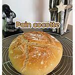 recette PAIN COCOTTE