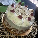recette Foret blanche aux framboises