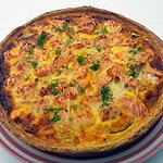 recette Quiche au saumon et fenouil au thermomix