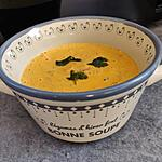 recette Velouté de lentilles corail au lait de coco et curry