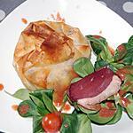 recette croustillant pommes et canard du blog cccuisine.over-blog.com