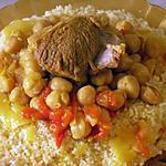 recette Couscous au safran et au poivre noir de Tlemcen