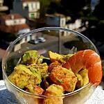 recette Verrines avocat/crevettes