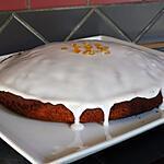 recette Marbré aux Oranges Confites et au Chocolat - Glaçage à la Fleur d'Oranger