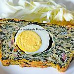 recette Cake de Pâques aux blettes et oeufs durs