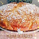 recette Mouna de Pâques ou brioche de Pâques