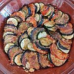 recette Tian de légumes au parmesan