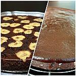 recette moelleux fondant au chocolat et banane mure