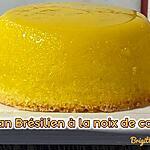 recette FLAN BRÉSILIEN A LA NOIX DE COCO