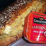 recette ***Mon cake aux petites graines et à la sardine***