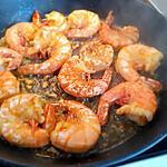 recette Crevettes à l' ail citron et Persil