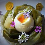 recette Oeuf mollet en nid de poireau