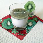 recette Panna cotta coco-kiwis au thermomix