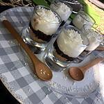 recette Verrine de mousse a la noix de coco et chocolat