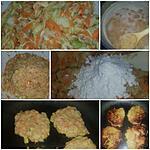 recette galette lentilles corail
