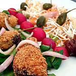 recette Sardines croustillantes en salade