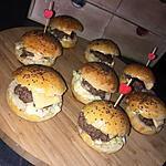 recette Minis hamburgers maison