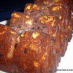 recette CAKE CHOCOLAT- AMANDES