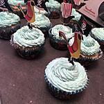 recette Cupcakes vanille fourré au caramel beurre salé glaçage mascarpone