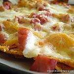 recette Nachos jambon-fromage