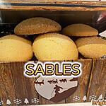 recette SABLES