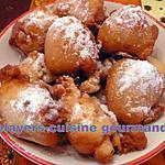 recette beignets - croustillons