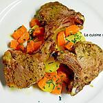 recette Côte d'agneau cuite à basse température